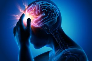 digital generated image of a brain suffering from concussion and in need of Pre and Post-Concussion Testing